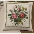 Permin Rose Bouquet Cushion Cross Stitch Kit