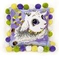 RIOLIS Little Goat Cushion Cross Stitch Kit