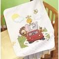 Janlynn Animal Fun Ride Quilt Cross Stitch Kit