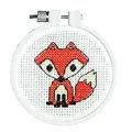 Janlynn Fox Cross Stitch Kit