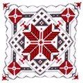 Vervaco Snowflake Cushion Christmas Cross Stitch Kit