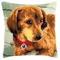 Vervaco Dachshund Cushion Cross Stitch Kit