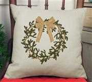 Anette Eriksson Wreath Value Cushion Front Christmas Cross Stitch Kit