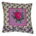 Anette Eriksson Rosebud Value Cushion Front Cross Stitch Kit