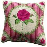Anette Eriksson English Rose Value Cushion Front Cross Stitch Kit