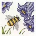 DMC Bee and Bluebells Cross Stitch Kit
