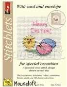 Mouseloft Easter Chick and Eggs Cross Stitch Kit