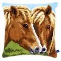 Vervaco Horses Cushion Cross Stitch Kit