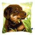 Vervaco Rottweiler Puppy Cushion Cross Stitch Kit