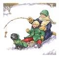 Janlynn Winter Fun Christmas Cross Stitch Kit