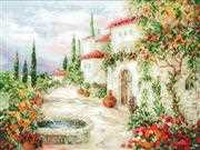RIOLIS At the Fountain Cross Stitch Kit