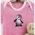 Permin Penguin Soluble Canvas Kit Cross Stitch