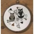 Permin Love Owls Cross Stitch Kit