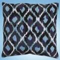 Design Works Crafts Blue Ikat Tapestry Kit