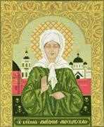 RIOLIS St Blessed Matrona of Moscow Cross Stitch Kit
