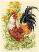RIOLIS Rooster Cross Stitch Kit