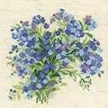 RIOLIS Forget Me Nots Floral Cross Stitch Kit