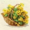 RIOLIS Yellow Rapeseed Floral Cross Stitch Kit