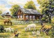 RIOLIS Afternoon in the Country Cross Stitch Kit