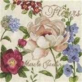 Design Works Crafts Marche Jardin Floral Cross Stitch Kit