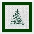 Luca-S Christmas Tree Mini Kit Cross Stitch