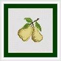 Luca-S Pears Mini Kit Cross Stitch