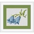 Luca-S Bluebells Mini Kit Floral Cross Stitch