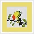 Luca-S Toucan Mini Kit Cross Stitch