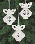 Permin Hardanger Angels 5 Embroidery Kit