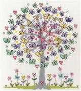 Bothy Threads Love Spring Floral Cross Stitch Kit
