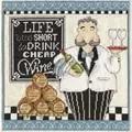 Design Works Crafts Cheap Wine Cross Stitch Kit