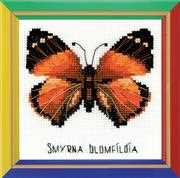 RIOLIS Happy Bee Nymphalidae Butterfly Cross Stitch Kit