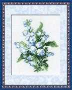 RIOLIS Lily of the Valley Floral Cross Stitch Kit
