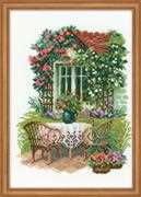 RIOLIS Morning at the Cottage Cross Stitch Kit