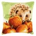 Vervaco Hedgehog Cushion Cross Stitch Kit