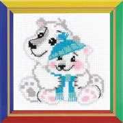RIOLIS Happy Bee Younger Brother Christmas Cross Stitch Kit