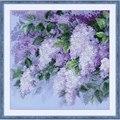 RIOLIS Lilacs After the Rain Floral Cross Stitch Kit