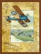 RIOLIS Above the Clouds Cross Stitch Kit