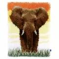Vervaco Elephant Latch Hook Kit
