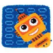 Vervaco Funny Robot Rug Latch Hook Kit