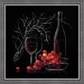 RIOLIS Still Life with Red Wine Cross Stitch Kit