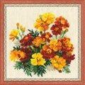 RIOLIS Marigolds Floral Cross Stitch Kit