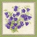 RIOLIS Bellflowers Floral Cross Stitch Kit