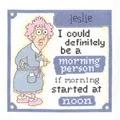 Janlynn Morning Person Cross Stitch Kit