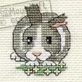 Mouseloft Daisy Rabbit Cross Stitch Kit