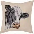 Permin Cow Cushion Cross Stitch Kit