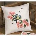 Permin Bluetit Cushion Cross Stitch Kit