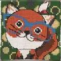 Permin Fox in Glasses Cross Stitch Kit