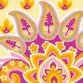 Grafitec Jacobean Pinks Floral Tapestry Canvas