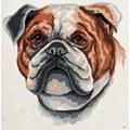 Grafitec Bulldog Tapestry Canvas